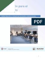Módulo 2. Calidad Educativa y Evaluaciones Nacionales e Internacionales