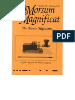 Morsum Magnificat-MM38