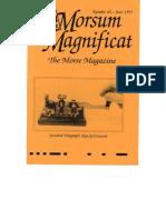 Morsum Magnificat-MM40