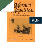 Morsum Magnificat-MM45