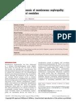Pathogenensis Membranous Nephropaty