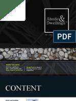 Abode & Dwellings Volume 1