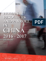 HR & Payroll in China 2016-2017 - Preview
