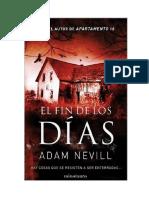 Adam Neville - El Fin de Los Dias