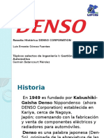 Reseña Histórica Denso Corporation