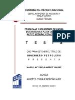 Problemas y Soluciones de Carga de Líquidos en Pozos de Gas Del Activo Integral Veracruz (AIV)