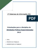 APS - 1o SI