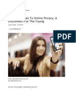 Online Privacy Cep 5