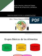 Grupos Basicos de Los Alimentos
