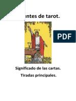 Apuntes de Tarot