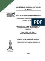 08 La Dialéctica Como Método 4-Abril