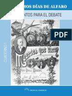 Los Ultimos Dias de Alfaro Documentos Para Debate