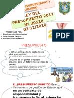 Exposic Elsa Dº Presupuestario y Financiero Elsa Janet