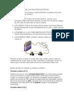 Los Componentes de Los Circuitos Electricos
