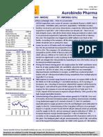20170504 Aurobindo-Pharma-Limited 204 CompanyUpdate