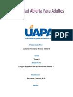Cuaderno Práctico No. II