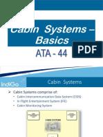 2. ATA 44 - Cabin Systems - Basics