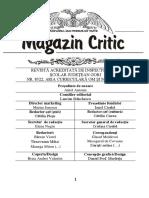 MAGAZIN CRITIC NR.49