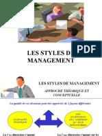 3 Les Styles de Management