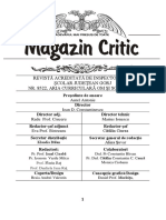 MAGAZIN CRITIC NR. 42