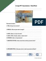 Lectura de Imagen 2 Impresionismo Monet