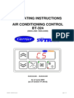 AIR CONDITIONING CONTROL BT-324