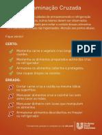 Adesivos Food Safety UFS