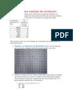 Guía Para Medidas de Correlación