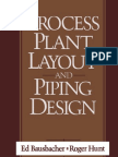 Process Plant Layout and Piping Design