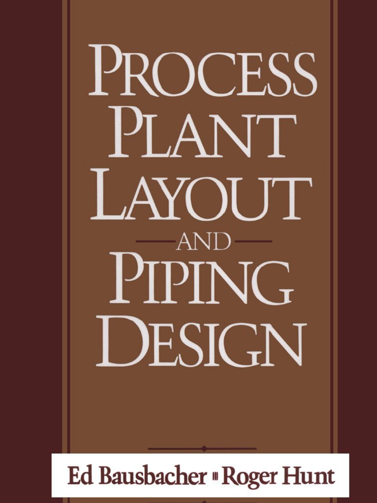 process plant layout and piping design  scribd