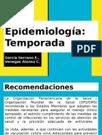 Epidemiología Temporada