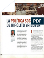 La Politica Social de H Yrigoyen - R Falcon