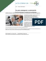 05 Preservar a Visão Para Assegurar a Autonomia - Portugal - Portugal