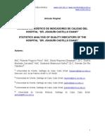 indicadores de calidad médica