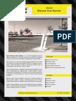 E - Manual Drom Arm Gate Spec. 1