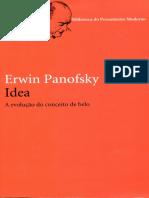 O Maneirismo Idea Panofsky