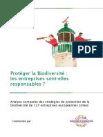 Etude Vigeo Biodiversite Fr 2012-2