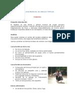 Analisis Musical de Bailes Tipicos de PERU