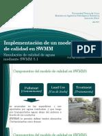 2017 6 2 Implementacion SWMM Calidad