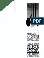 Casullo y Cayssials 1996 Proyecto de Vida y Decisión Vocacional Las Técnicas Gráficas