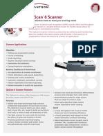 OpScan 6 Datasheet