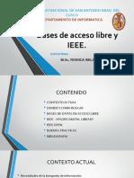 Bases de Acceso Libre y IEEE