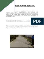 Informe de Avance Semanal (2)