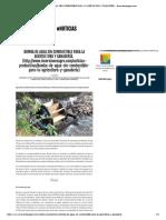 Bomba de Agua Sin Combustible Para La Agricultura y Ganadería.