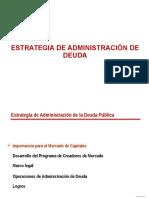 Perú_ Estrategia de Administración de Deuda