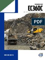 excavadoras volvo EC360C