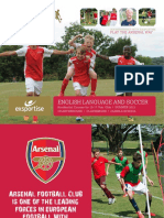Arsenal Soccer Schools Exsportise Brochure 2015