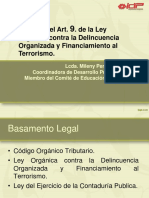 Legitimacion de Capitales. Mileny Perodmo