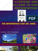 hello everyone and welcome to our presentation