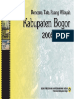 Naskah Akademis RTRW Kab Bogor